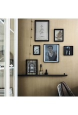 vt-wonen VT-WONEN. Photo Frame Wood Dark Brown 30x30x4cm