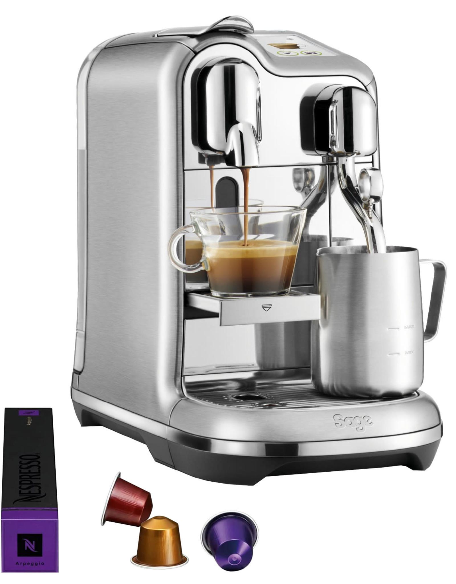 Sage Sage. Nespresso The Creatista™ Pro - Zilver