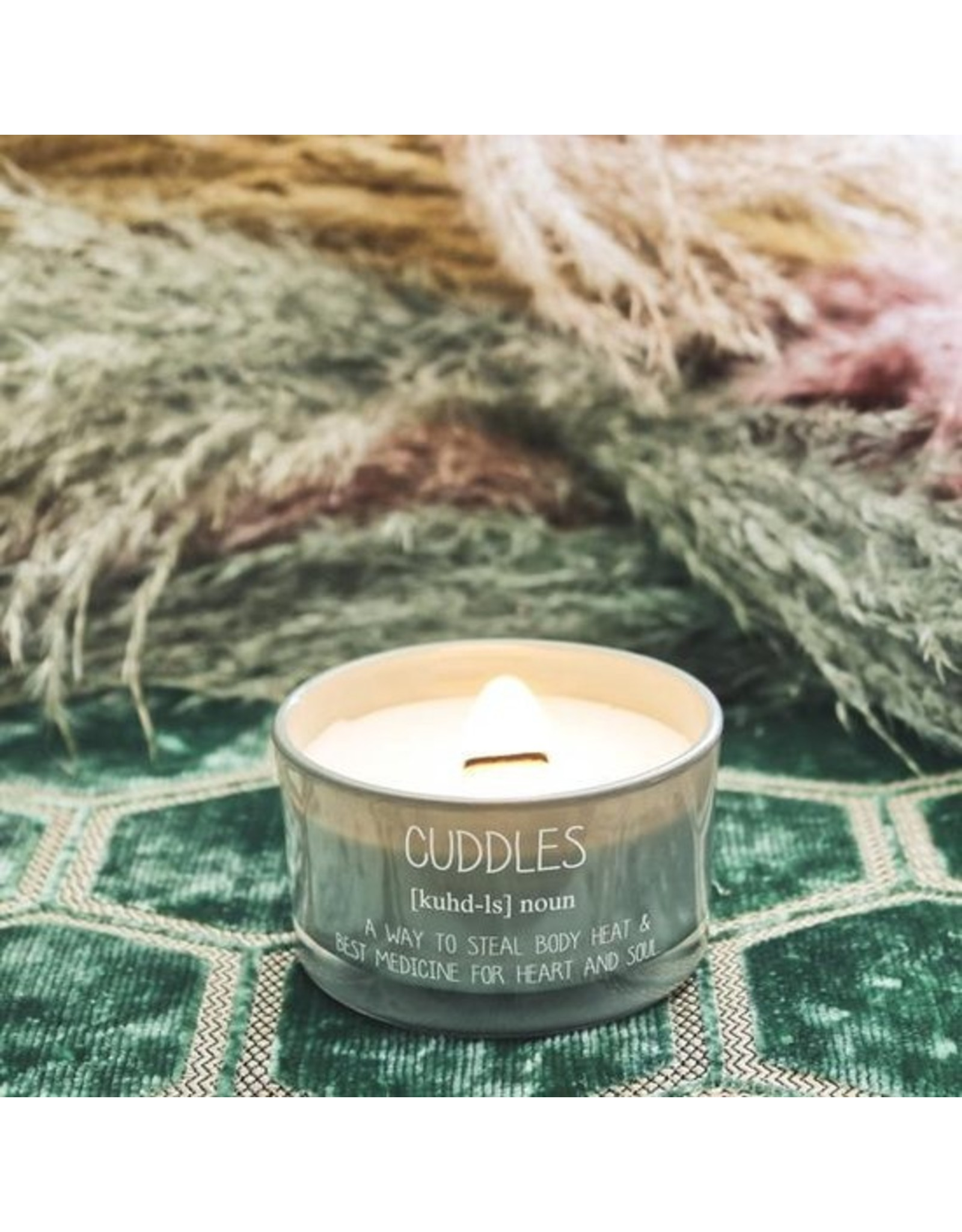 myflame My FLAME. SOJAKAARS - CUDDLES - GEUR: MINTY BAMBOO