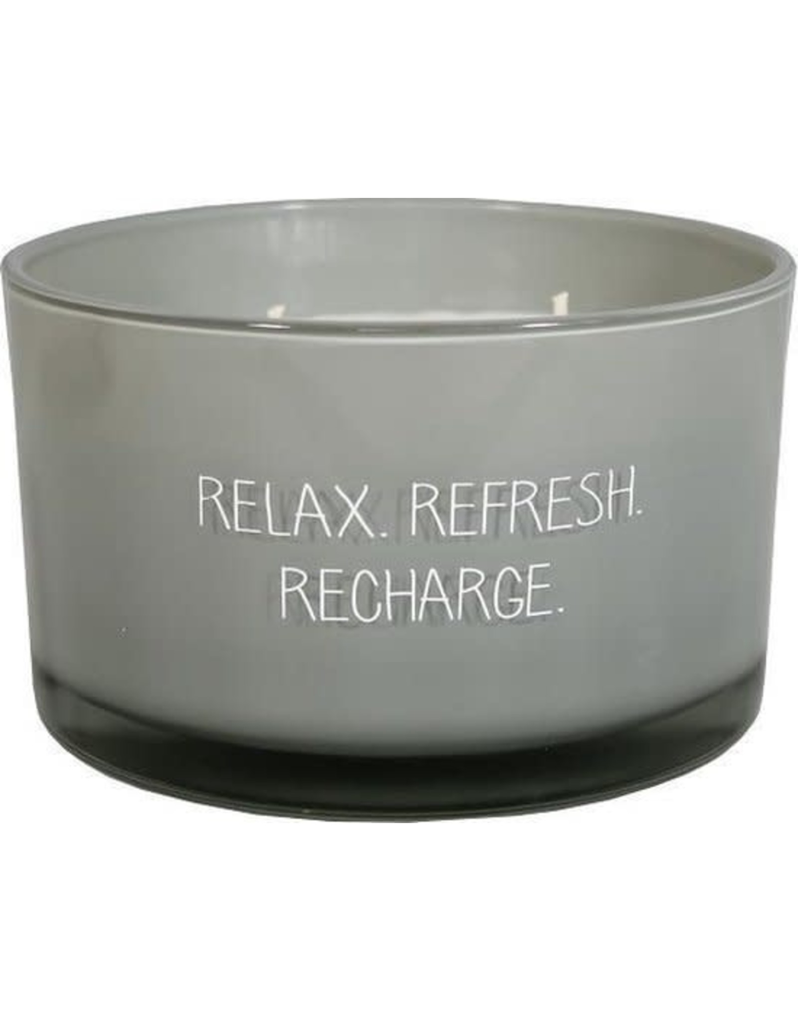 myflame SOJAKAARS - RELAX REFRESH RECHARGE - GEUR: MINTY BAMBOO