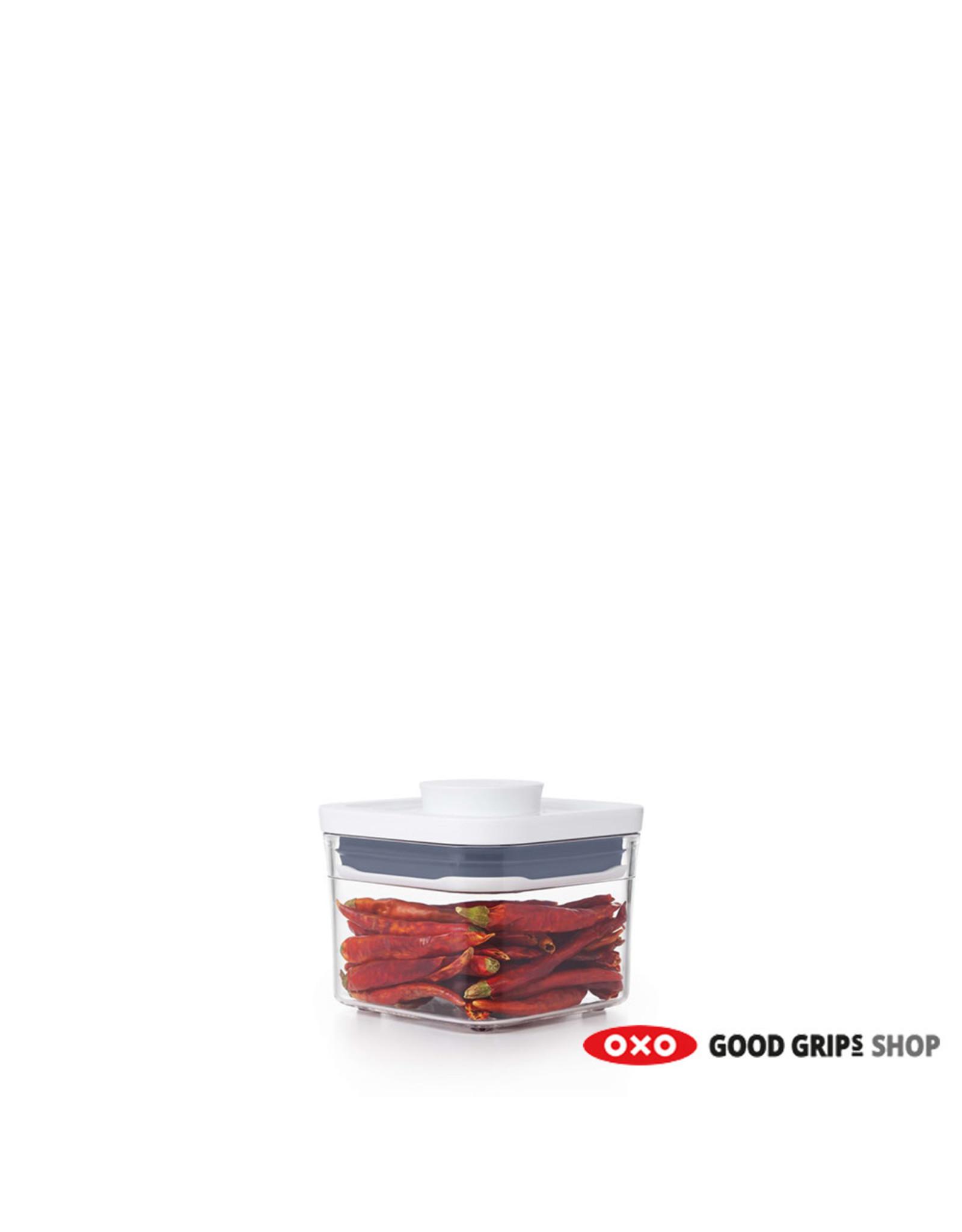 oxo OXO. POP 2.0 Klein vierkant mini, 0,4 liter