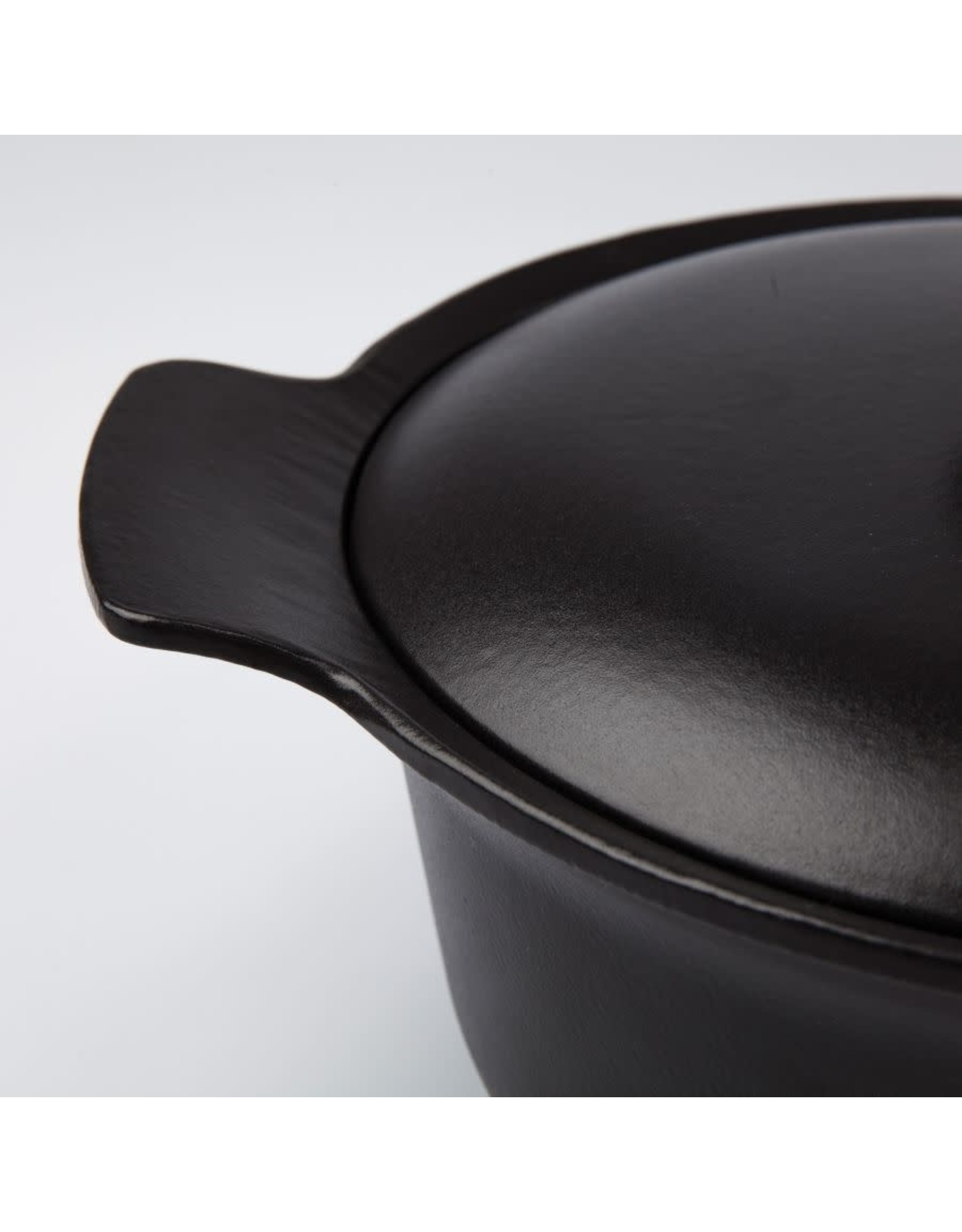 Berghoff BergHOFF. Ovale braadpan met deksel zwart 28x22 cm - Ron
