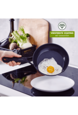 Greenpan Greenpan GP Black Koekenpan. 20 +  28cm + gratis protective sheet green