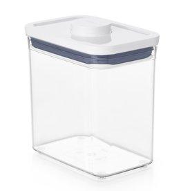oxo OXO. POP 2.0 Rechthoekig laag, 1,6 liter
