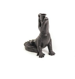 House vitamin HV Krokodil kandelaar zwart