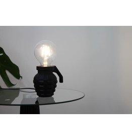 House vitamin HV HAND GRANAAT LAMP-9X10CM-ZWART