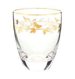 pip-studio Pip-Studio. Water Glass Winter Wonderland Gold 360ml