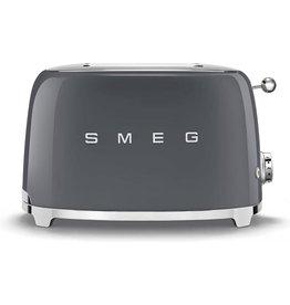 Smeg SMEG- Broodrooster 2x2- Leigrijs