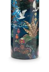 pip-studio Pip Studio. waterfles pip garden donkerblauw 600 ml