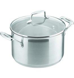 Scanpan Scanpan. Impact kookpan met deksel. 4,5 liter. 22cm