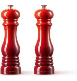 Le Creuset Le Creuset. Set peper- en zoutmolen 21 cm Rood