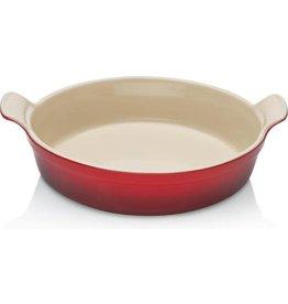 Le Creuset Le Creuset . Ovenschaal - 24 cm / 6.3 cm - Rond -  Kersenrood