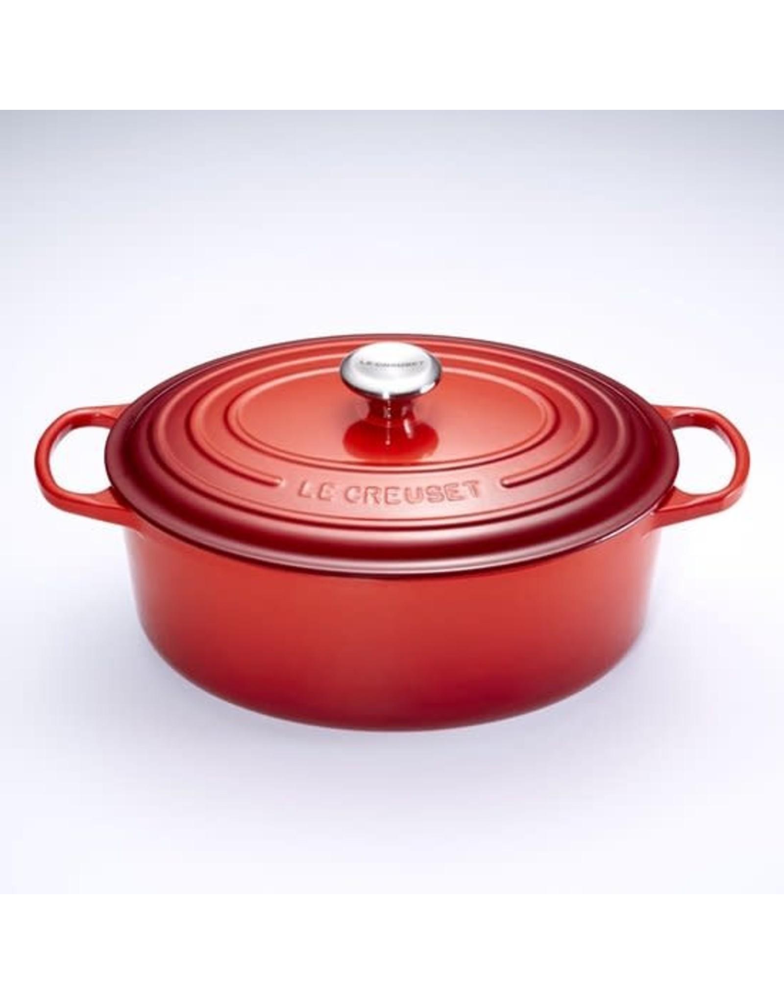 Le Creuset Le Creuset. Ovale Braadpan/Stoofpan - 7,5 liter - 33 cm - Kersenrood