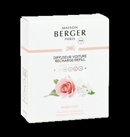 Maison Berger Maison Berger. Autoparfum navulling 2 stuks Paris chic