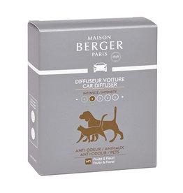 Maison Berger Maison Berger. Autoparfum navulling 2 stuks Anti mauvaises odeurs animaux