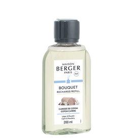 Maison Berger Maison Berger. Navulling parfumverspreider met sticks 200ml Caresse de coton