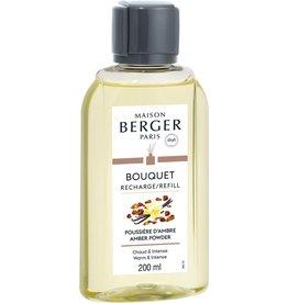 Maison Berger Maison Berger. Navulling parfumverspreider met sticks 200ml Poussière d'Ambre