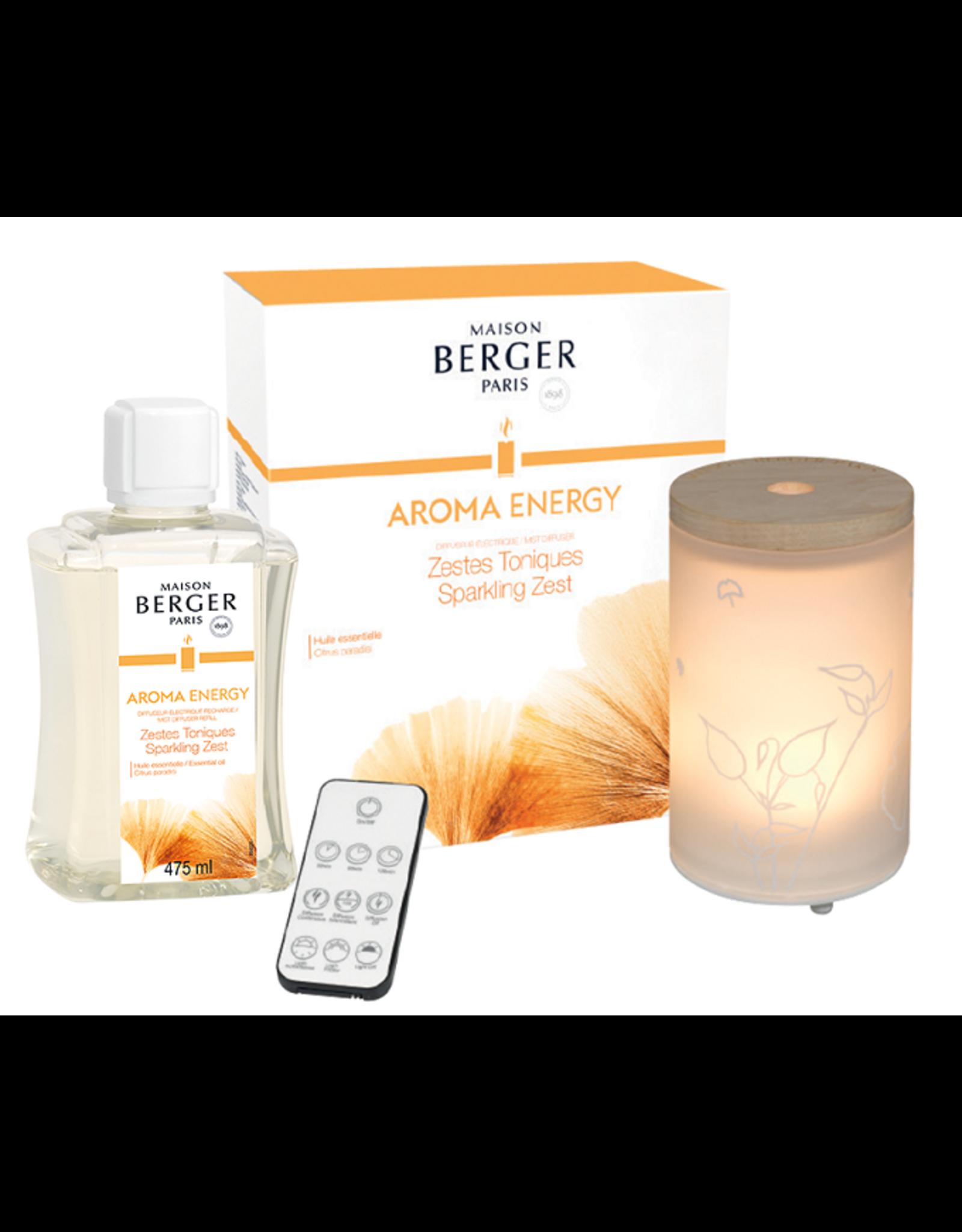 Maison Berger Maison Berger. Mist Diffuser Aroma Energy - Zestes toniques / Sparkling zest