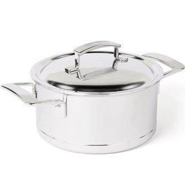 Demeyere Demeyere. Silver 7 kookpan met dubbelwandige deksel. 16cm 1,5L