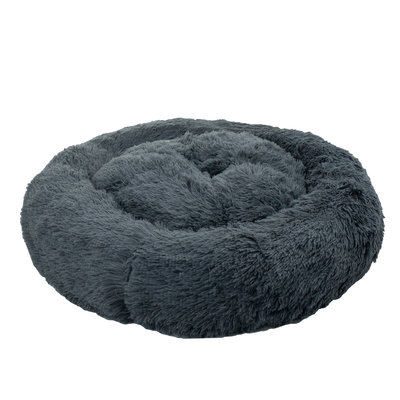 Pet-Joy Cuddle Donut Dark Grey