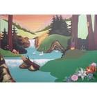 """Schilderij: """"LandEscape"""", gesigneerd Harold Linker 125x175"""