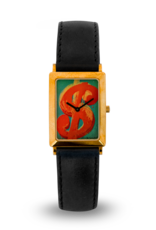 Dollar Sign Red / Soho Collection, 18ct gold, limited editionn of 99 pcs.