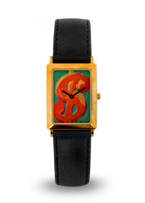 """""""Dollar Sign Red"""" / Soho Collection, 18ct gold, limited editionn of 99 pcs."""