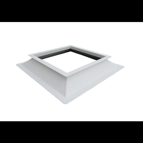 130 x 130 cm Opstand voor lichtkoepel