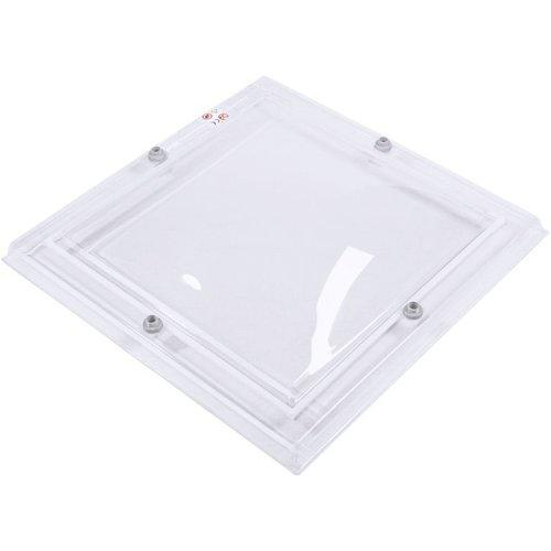 Bolvormige Lichtkoepel vierkant 30 x 30 cm