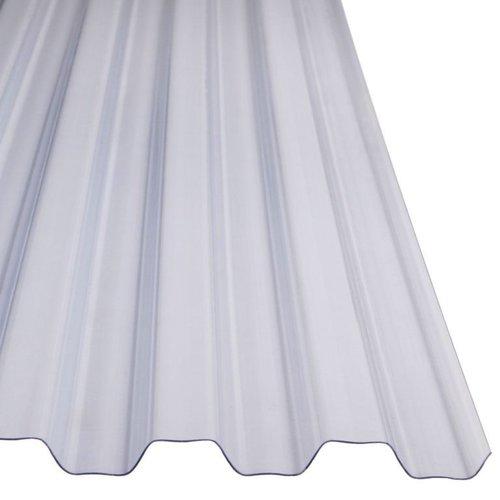 PVC Damwandplaat Glashelder Type N 1090mm