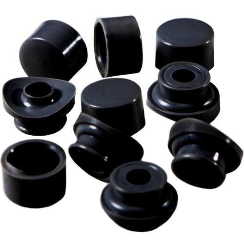 Golfplaatbout 6x60mm Zwart Dop en Ring