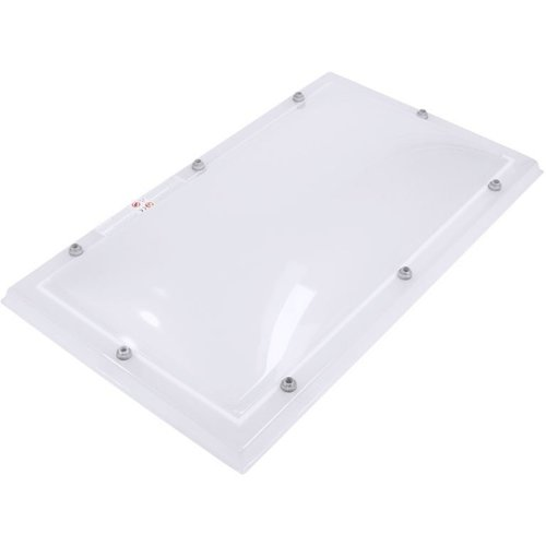 Lichtkoepel set rechthoek 100 x 160 cm
