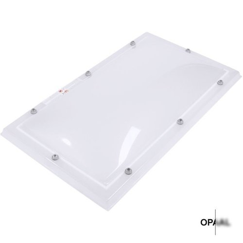 Lichtkoepel set rechthoek 80 x 250 cm