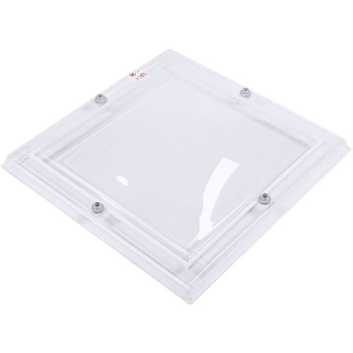 Lichtkoepel ventilatieset  vierkant 200 x 200 cm