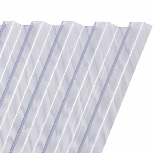 Damwandplaat PVC Glashelder Type N (350 x 109 cm)