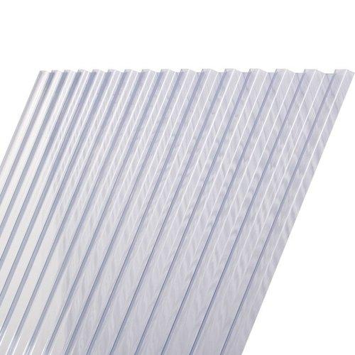 Damwandplaat PVC Glashelder Type N (500 x 109 cm)