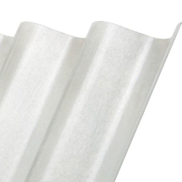 Polyester golfplaat met vezelstructuur