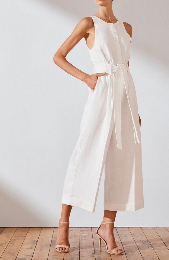 Savannah Linen Tailored Jumpsuit-7