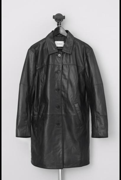 Kara Leather Coat