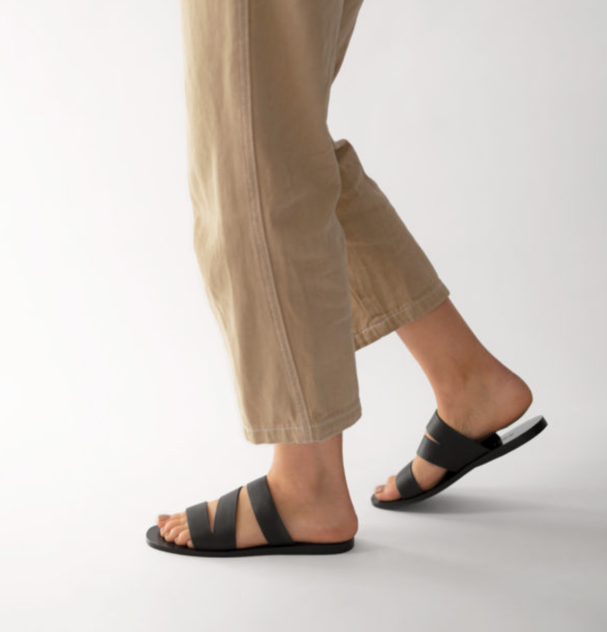Leather sandals-1