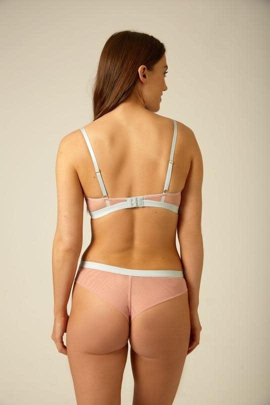 Triangle lace bra-4