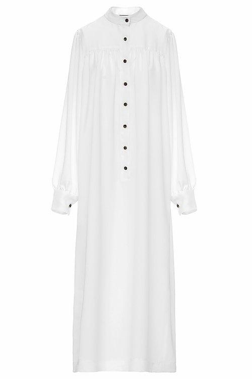 Maxi shirt dress-3
