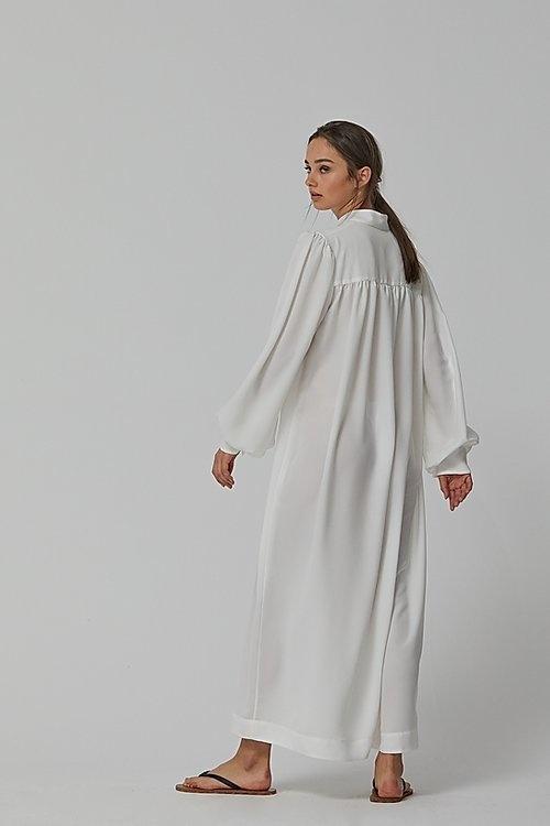 Maxi shirt dress-2