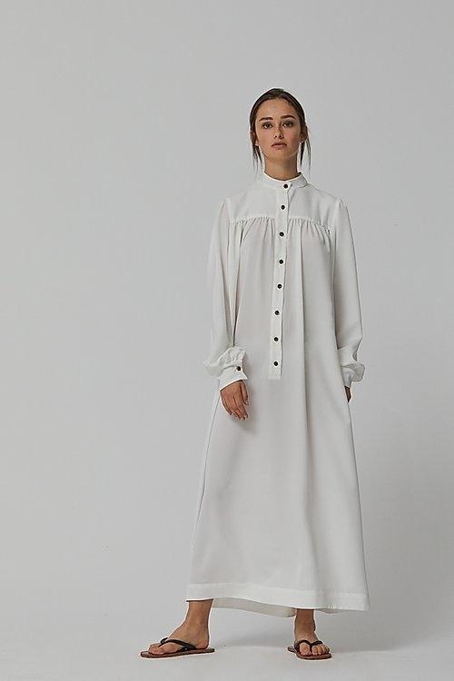 Maxi shirt dress-1