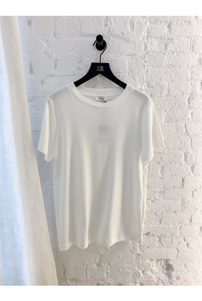 Basic katoenen T-shirt