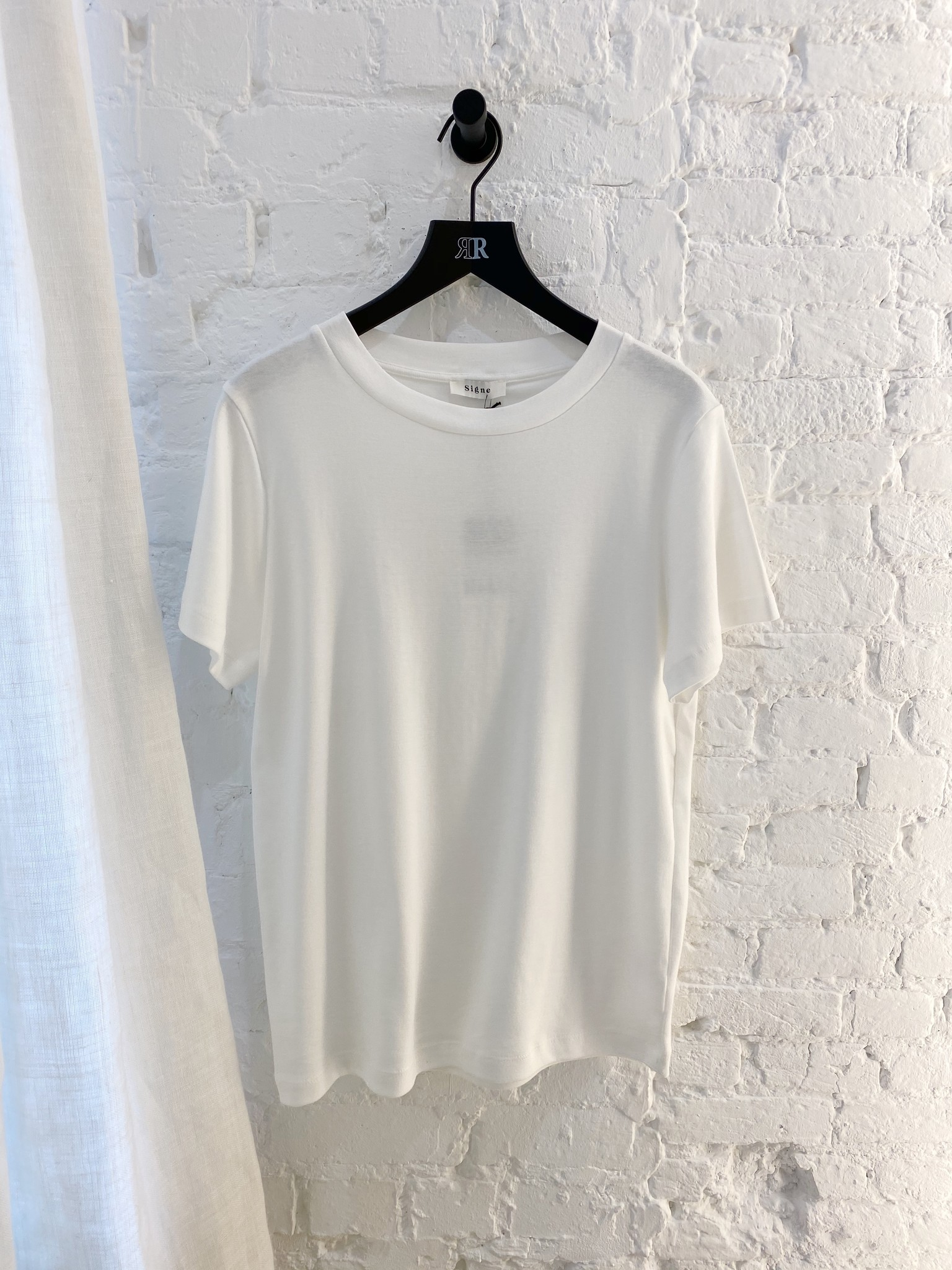 Basic katoenen T-shirt-1