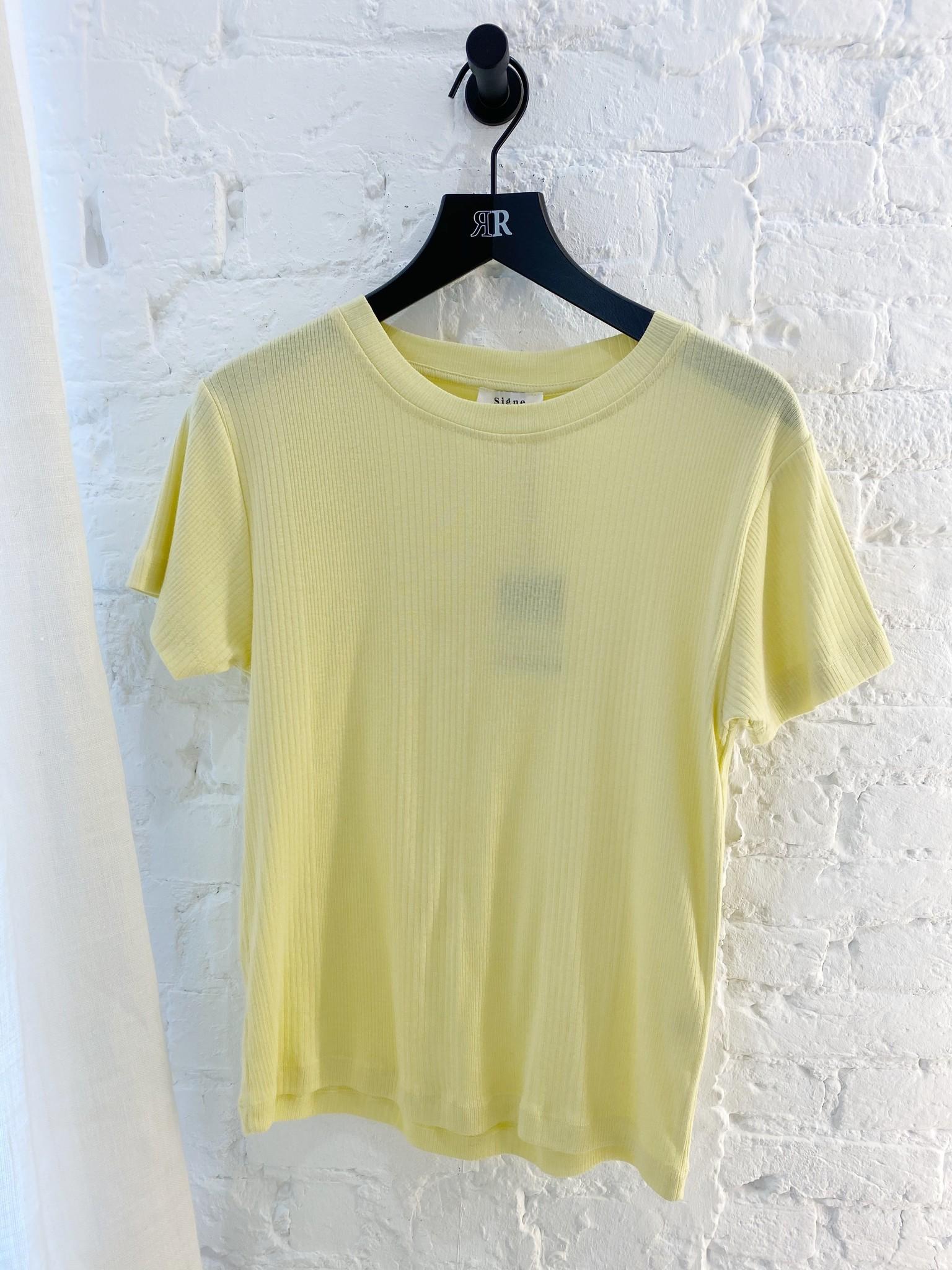 Flora rib t-shirt-2