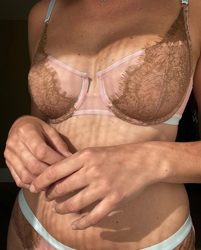 Lace underwired bra-2