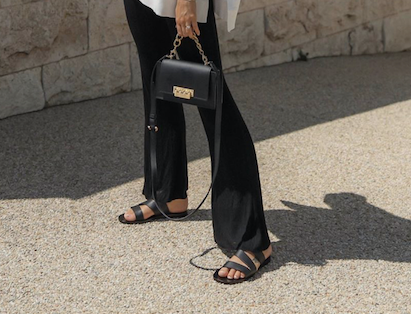 Leather sandals-3