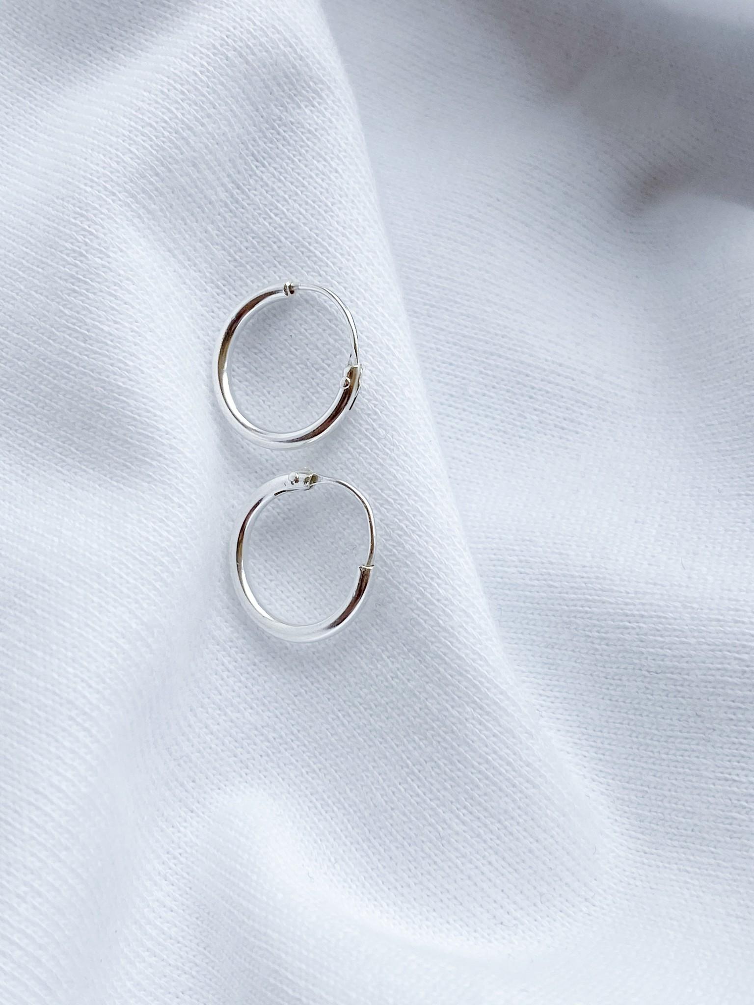 Hoop Earrings 1cm-1